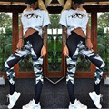 Mulher elegante Carry Nádega Camuflagem Juntando cultivar A Moralidade Leggings Mulheres Sexy