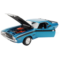 high quality 1:24 Dodge Challenger alloy model car,advanced collection and gift muscle car model ornaments,free shipping