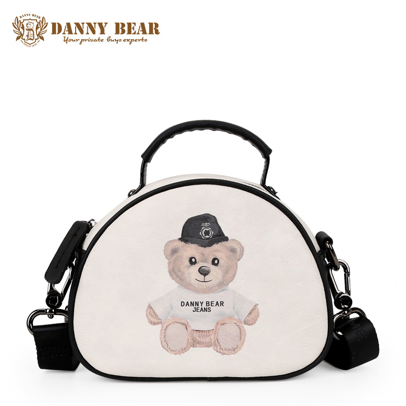 цены DANNY BEAR Women Small Vintage Handbag Italian Ladies Fashion Leather Handbags Girls Mini Crossbody Bag Cute Tote Shoulder Bags