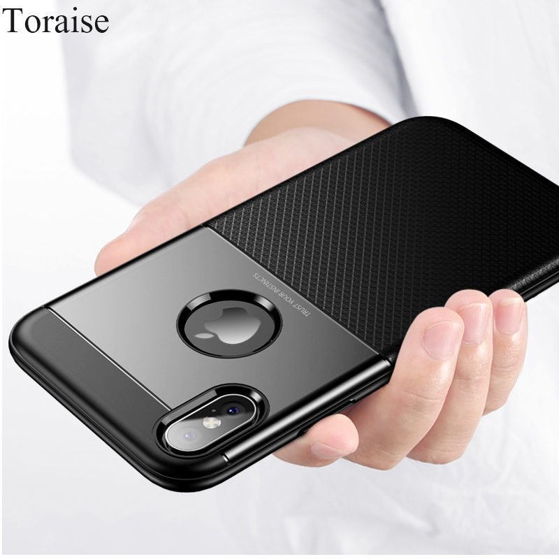 Toraise 360 Full Case For iPhone 8 Cases Luxury Soft Tpu Silicone Case For iPhone 7 7 Plus Cover For iphone X 6S 8 Plus 6