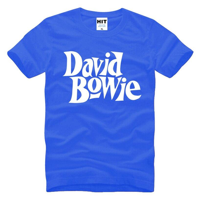 David Bowie Rock Music Memorial Männer T-Shirt T-Shirt Männer 2016 - Herrenbekleidung - Foto 3