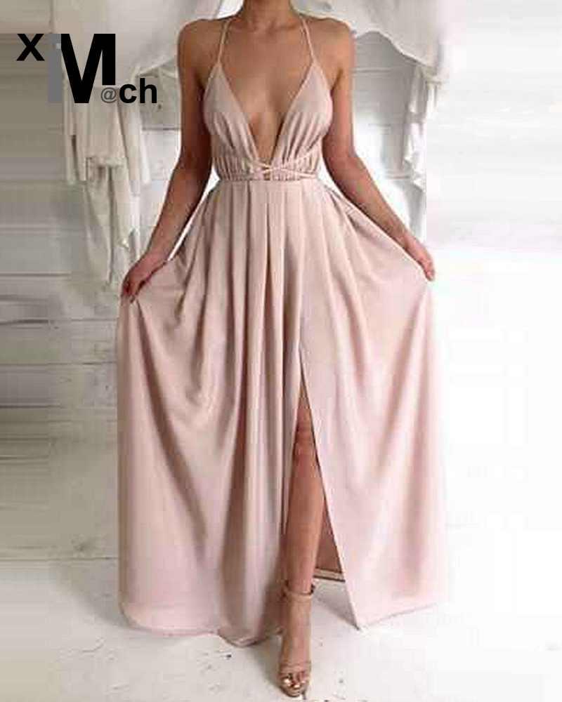 Popular Long Satin Maxi Dress-Buy Cheap Long Satin Maxi Dress lots ...