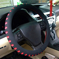 DIY Car Steering Wheel Cover Rubber PU Leather Auto Car Steering Wheel Cover Multi Color
