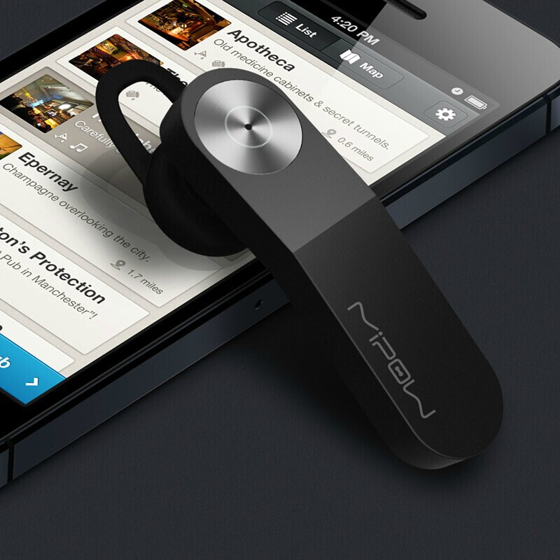 MIPOW Bluetooth v3.0 Headsets Wireless Headphone Fashion ...