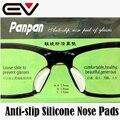 5 Pares de Silicona Almohadillas de Nariz para Anteojos Anti-slip Negro y Claro Gafas Almohadillas de Nariz Nariz Almofadas de Silicona de Oculos EV0359