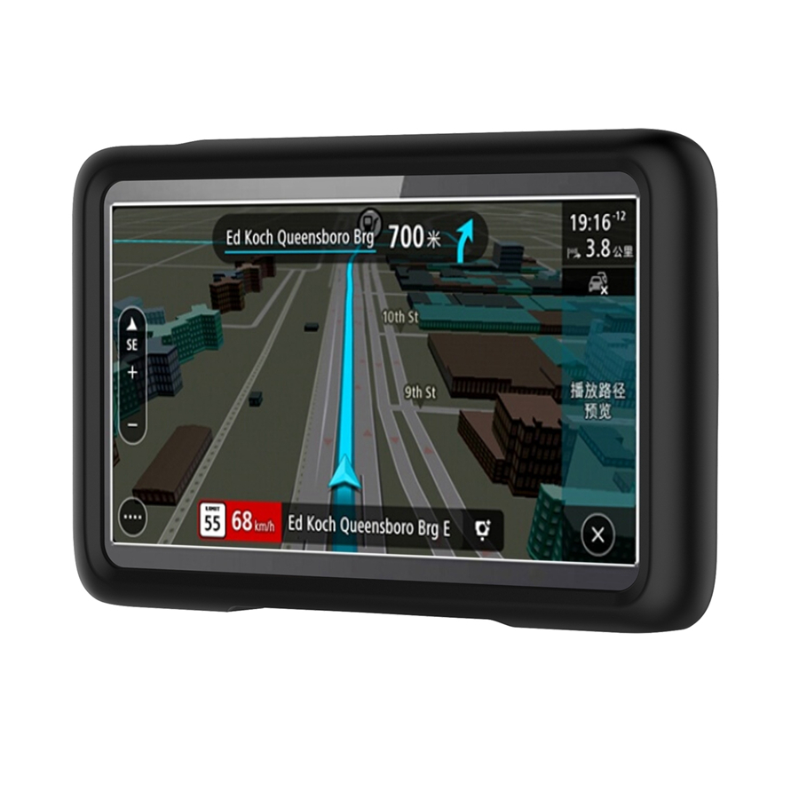 Silicone Case Cover for TOMTOM GO LIVE 1005 1050 Protector