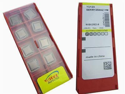 New 50PCS Square SEKR104AZ-YM Turning Carbide Insert Long time cutting quality цена и фото