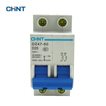 CHINT Dz47-60 Mini Circuit Breaker DZ47-60 2P D25