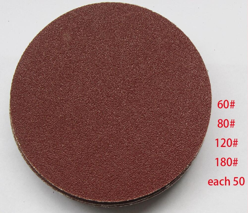 200pcs 115mm 4-1/2'' Round Sanding paper fits for multifunction power tool as Fein Multimaster,Dremel tools on sale 2 in 1 round multifunction graduated cutting cable strippers rasp dremel 2016