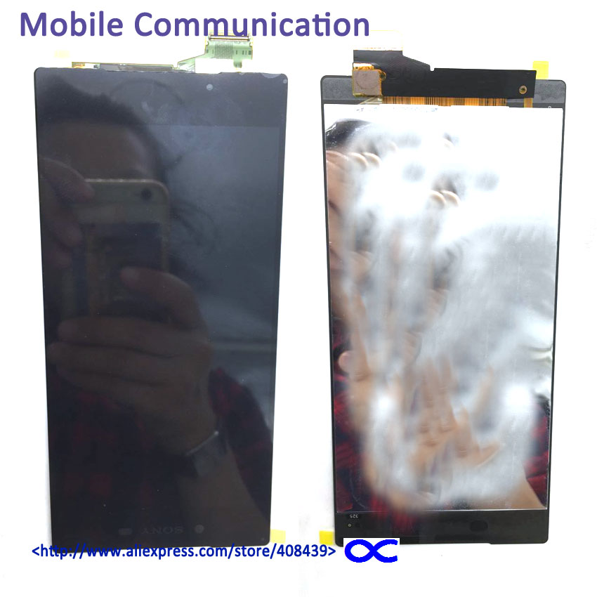 ФОТО 5pcs New Z5 Premium LCD display Screen For Sony Xperia Z5 Premium E6853 LCD Display Touch Screen
