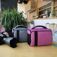 DSLR Camera Bag Photography Case For Fujifilm X A1 X A2 XA3 X A5 XA10 XT1 T2 XT20 X M1 X T10 X100F XT100 Waterproof Photo Bag