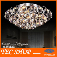 JH Luxury K9 Crystal Chandelier LED Crystal Lights Living Room Dining Room Chandelier Lamp Lighting Aisle