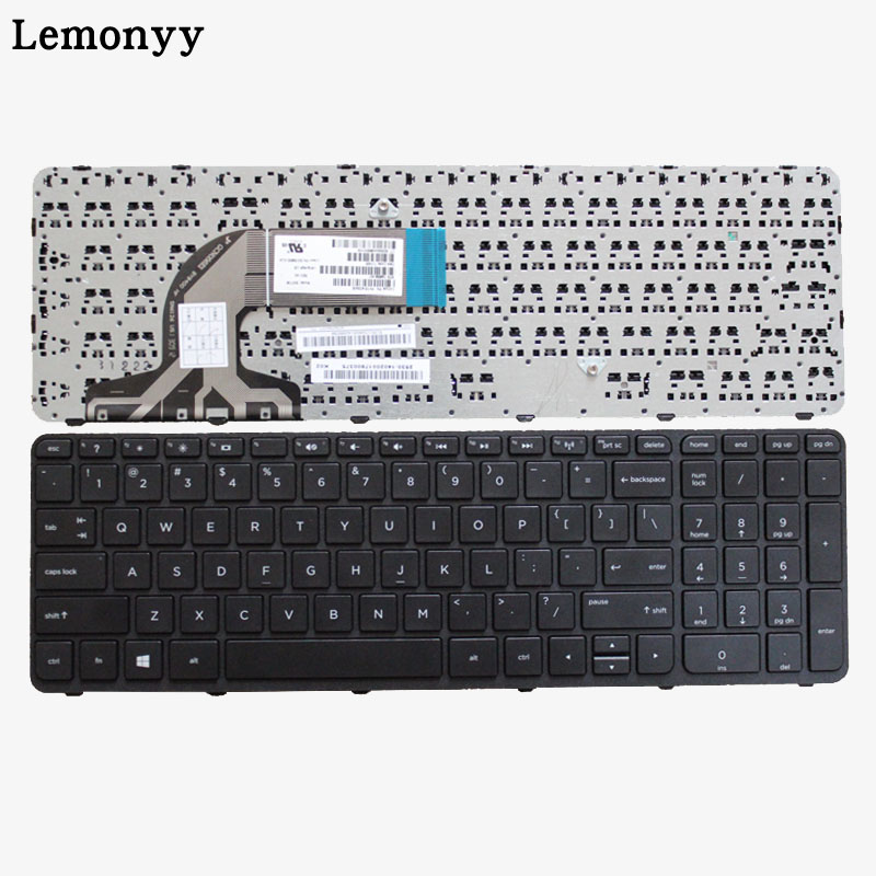 цена на US New laptop Keyboard FOR HP 15-g000 15-r000 15-g 15-r 250 G3 255 G3 256 G3 15-r007nc 15-r008nc 15-r009nc 15-r010nc with Frame