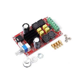 XH-M189 Digital Power Amplifier Board TPA3116 DC24V Dual Channel Ampli AMP Stereo TPA3116D2 2X50W High End D2 Audio Amplificator image
