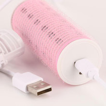 Mini Bang  Curling Iron Hair Wand Makeup Curl Machine Portable Beauty Electric USB Charging Curler Roller Care Travel