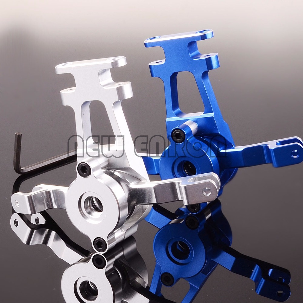 new enron 1 10 aluminum steering assembly bell crank traxxas 1 10 revo 2 5 3 3 e revo trv048 [ 1000 x 1000 Pixel ]