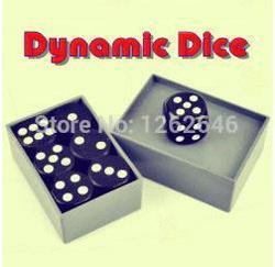 O Envio gratuito de Dados Dinâmica-Truques de Mágica, Diversão Brinquedos Mágicos, Acessórios Mágicos, Close-Up, estágio Adereços Magia, Gimmick