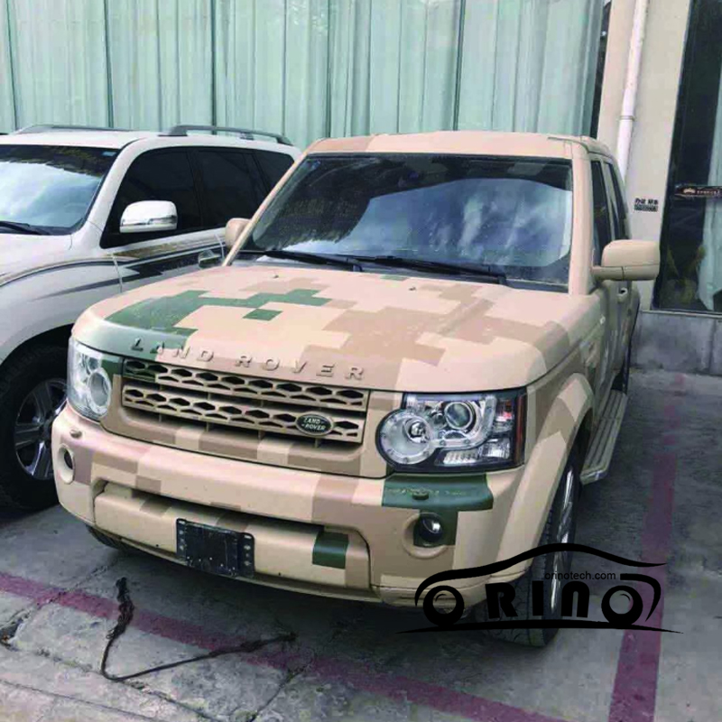 ORINO Camo Car Wrap Digital Film Desert Camouflage Vinyl Sheet With Air Bubble Free For Vehicle