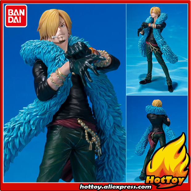 100% Original BANDAI Tamashii Nations Figuarts ZERO Collection Figure - Sanji -20th Anniversary ver.- from