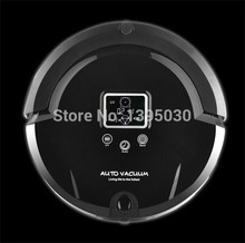 4pcs/lot A320 Robotic Vacuum Cleaner,LCD Touch Screen