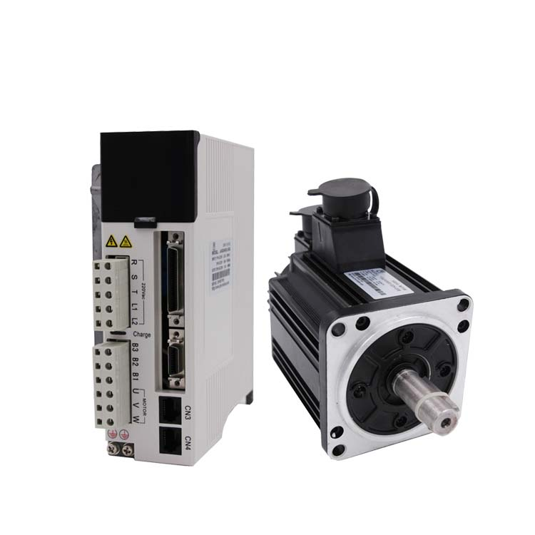 1KW 1000W AC Servo Motor 3.18Nm NEMA42 3000RPM 110mm Servo Motor Drive Kit with 3M Cable 20Bit JASD10002-20B+110JASM5102K-20B 2 sets ac servo motor 4n m 1000w with driver and cable 80st m04025