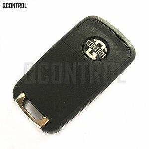 Image 2 - QCONTROL 2/3/4 Tasten Auto Funkschlüssel DIY für OPEL/VAUXHALL 433 MHz für Astra J Corsa E Insignia Zafira C 2009 2016