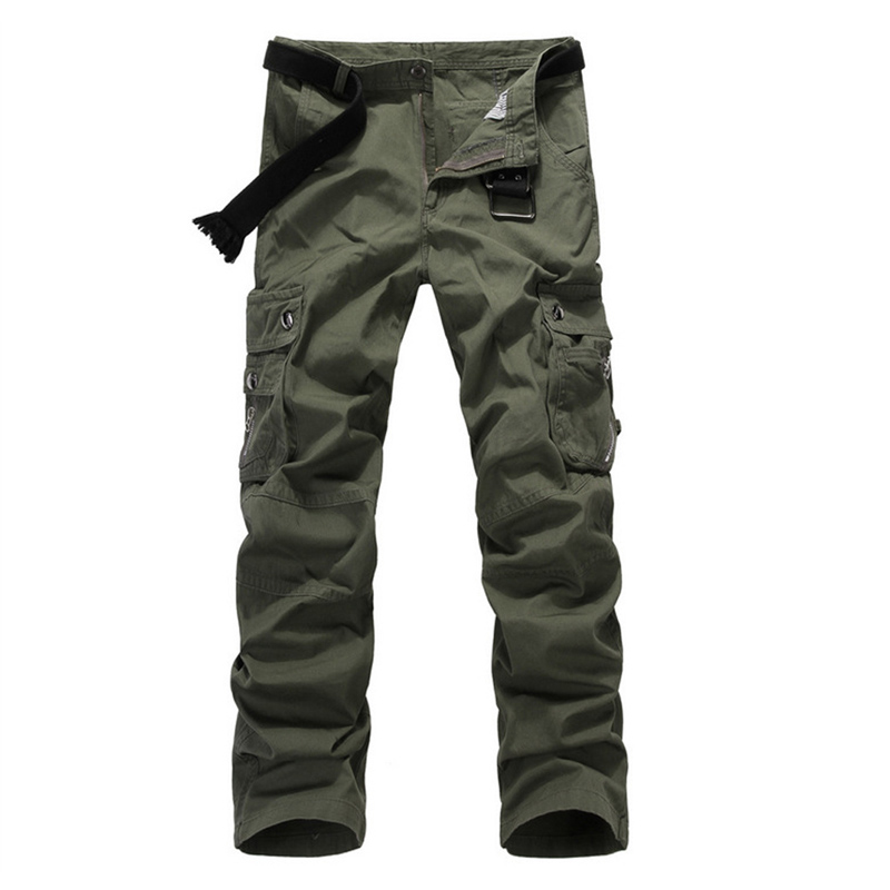 High Quality Mens Boys Military Army Combat Work Slacks Cargo Pants Camo Trousers Size 32 33 34 36 38 DM#6