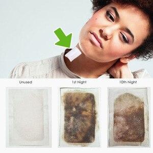 Image 4 - 10 patches/Box Nutrispot Neck Lymphatischen Detox Patch Anti Schwellungen Pflanzliche LymphPads Detox Patches Pads Zu Verbessern schlaf
