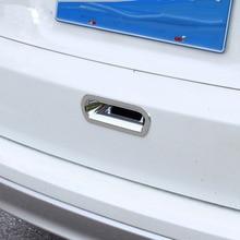 ABS Chrome Car Trunk Door Handle Trim Cover For Honda CRV CR-V 2012 13 14 15 16 Rear Bowl Sequin Trim Accessories chrome rear trunk molding trim cover for honda fit jazz 2009 2010 2011 2012