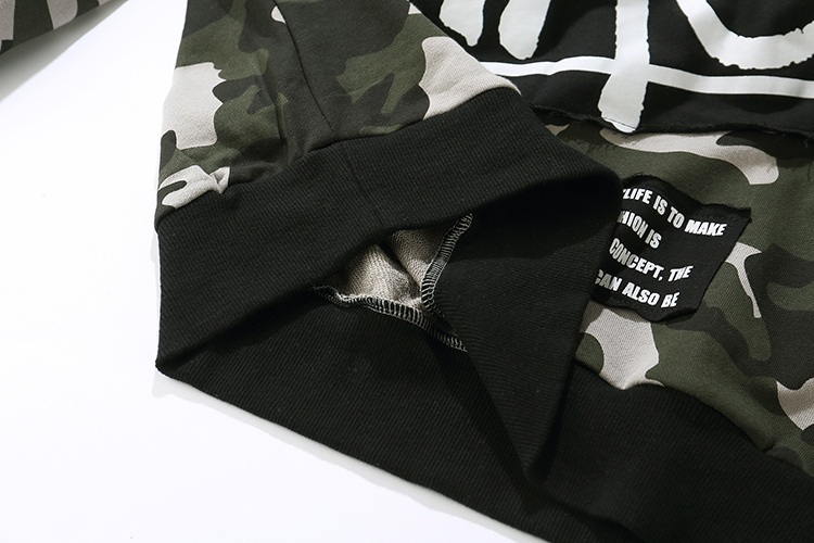 Camouflage Patch Hoodies 8