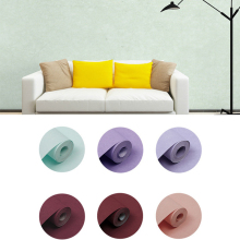 44color Solid Color Silk Non-woven Fabric Wallpaper for Walls 3D Minimalist Designs Wall Paper Modern Long Fiber Plain