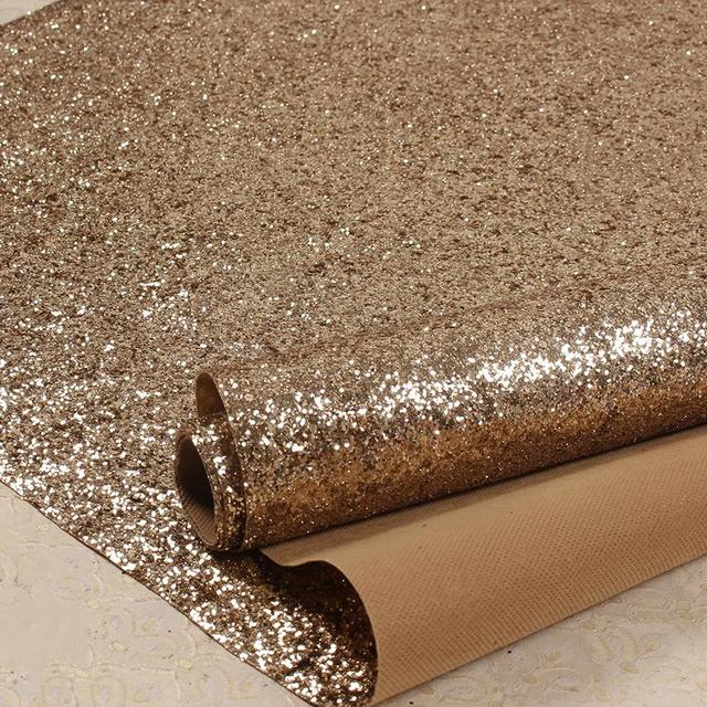 15 Meter Lot 3D Chunky Glitter Wallpaper Reflective Wallcovering For Home Decor High Quality