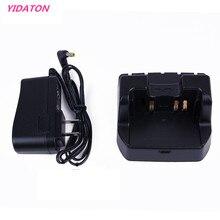 YIDATON מטען שולחני מטען עבור Yaesu VX 8GR VX 8DR VX 8R VX 8E VX 8DE FT 1DR רדיו עבור סוללה SBR 14LI FNB101LI FNB102LI
