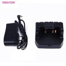 Yidaton充電器デスクトップ充電器八重洲vx 8r VX 8E 8dr VX 8DE 8gr FT 1DRラジオ用バッテリーSBR 14LI FNB101LI FNB102LI