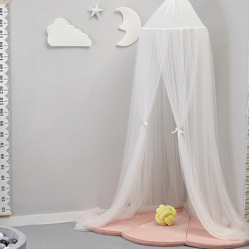 Round Baby Bed Mosquito Net Dome Hanging Bed Canopy ...