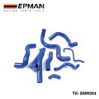 Silicone Intercoole Turbo Radiator Intake Hose For BMW Mini R56 Cooper S 07+ (8pcs) EP BMR004 intercooler turbo silicone intercoolerradiator silicone hose -