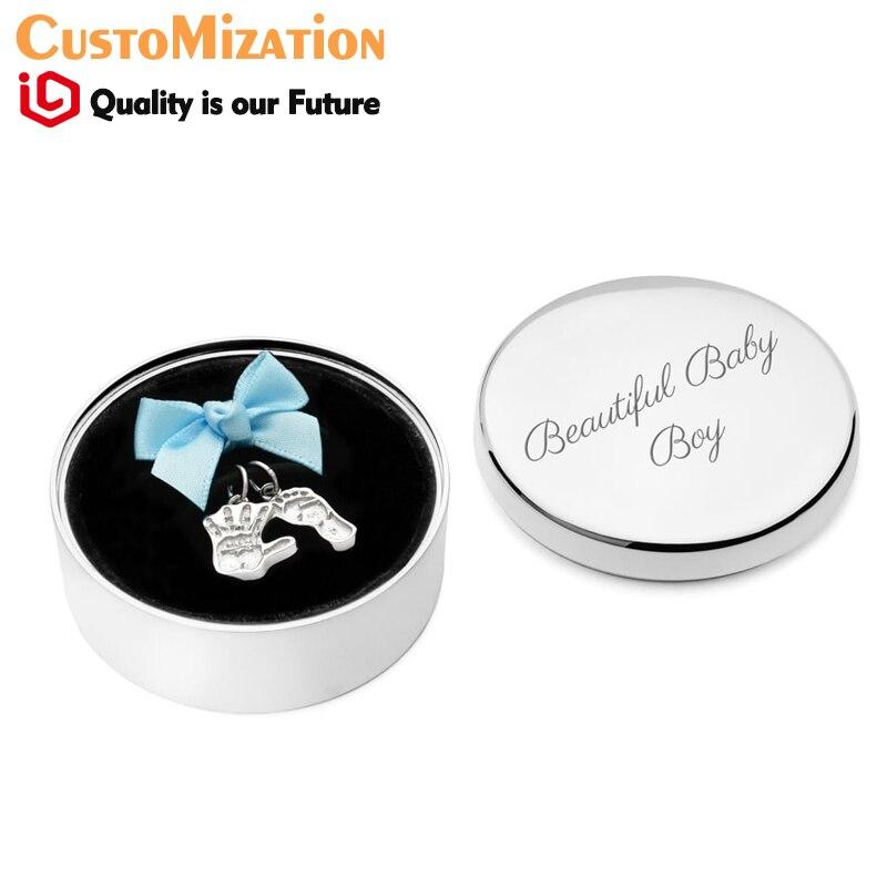 Маленькие круглые Форма Подарочная коробка для кольца Серьги ювелирных изделий Подарочна ...