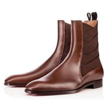 Мужские зимние короткие ботинки размера плюс botinas masculina
