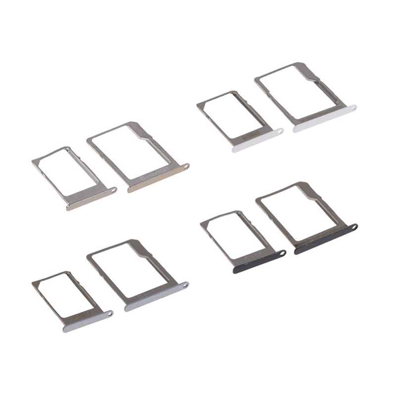 For Samsung Galaxy A3 A5 A7 2015 A300 A500 A700 Original Phone Housing New SIM Card Adapter And Micro SD Card Tray Holder