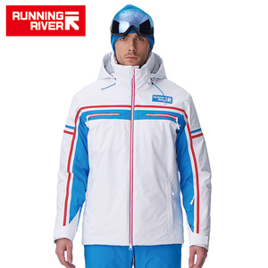 Image 3 - RUNNING RIVER Brand Men High Quality Ski Jacket Winter Warm Hooded Sports Jackets For Man Professional Outdoor jacket #A7006
