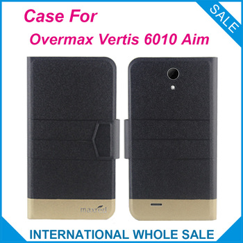 5 Colors Hot! Overmax Vertis 6010 Aim Case,2016 High quality Full Flip Fashion Customize Leather Exclusive Case image