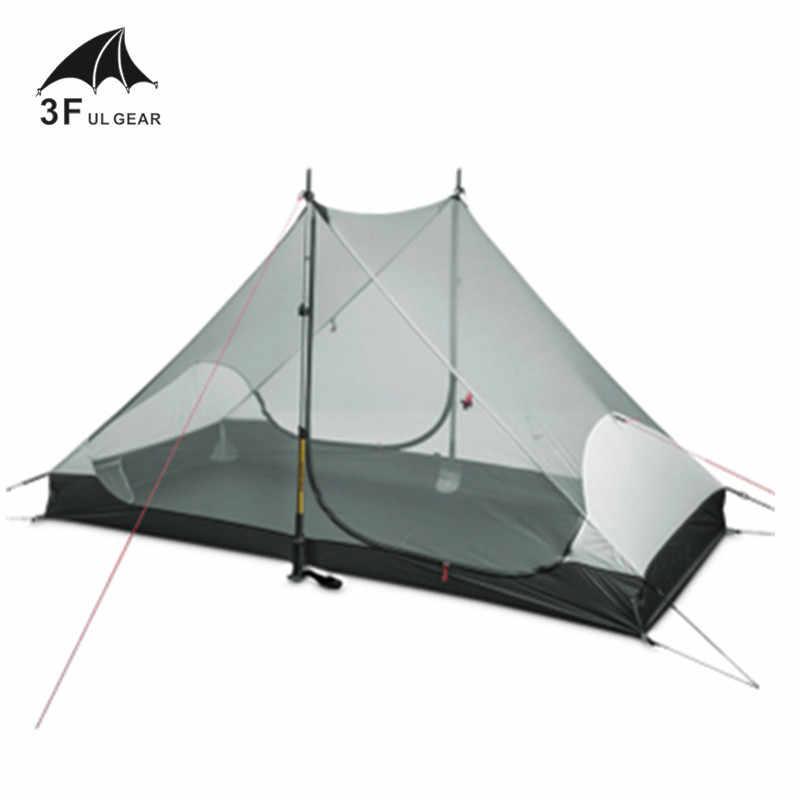 3F UL DIŞLI LanShan 2 iç çadırı 2 kişi 3 mevsim ve 4 mevsim iç çadır açık kamp çadır