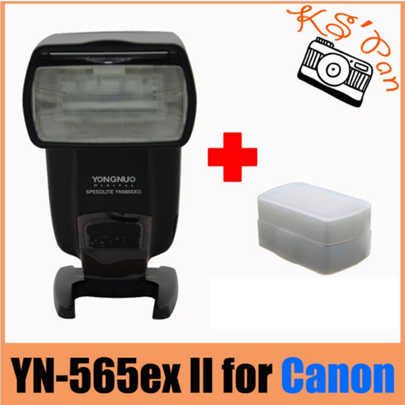 Yongnuo YN-565EX II Speedlite YN565EX II For Canon 6d 60d 5d mark iii 550d 1100d 650d 600d 700d 7d 5d2 Camera Wireless TTL Flash 3pcs yongnuo yn600ex rt auto ttl hss flash speedlite yn e3 rt controller for canon 5d3 5d2 7d mark ii 6d 70d 60d