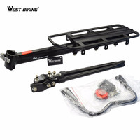 Rear Carrier Rack Seat Outdoor Sports Load 50Kg Cycling Mountain Bag V Brake Shelf Bicycle General