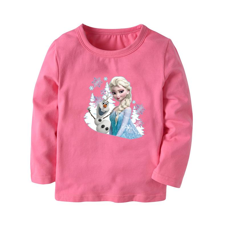 Disney Frozen Elsa Snow Queen Girls T-Shirt