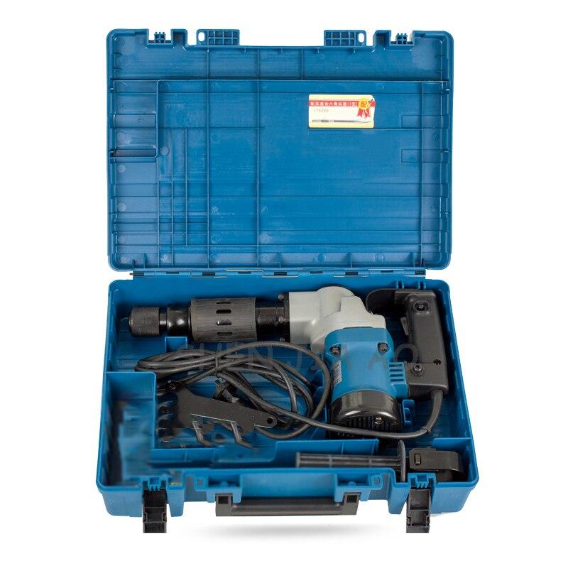 1 pieza Z1G FF 6 multifunción de mano de recogida eléctrica de 900W máquina de recogida eléctrica que astillan las ranuras de la pared de 220V - 6