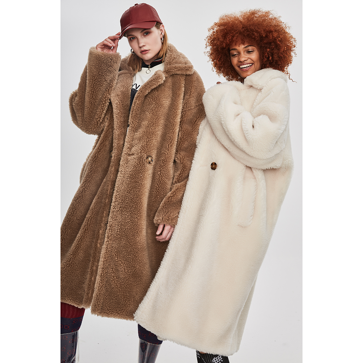 jazzevar winter new fashion teddy bear icon coat x long. Black Bedroom Furniture Sets. Home Design Ideas