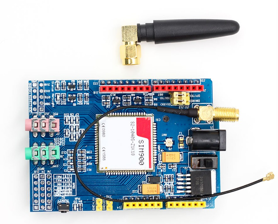 PromoteÓSIM900 850/900/1800/1900 MHz GPRS/GSM Development Board Module Kit For Arduino