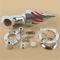 Moto Chrome Air Cleaner Intake Filter For Harley Davidson Sportster XL 1991 2006 1992 1994 Motorcycle