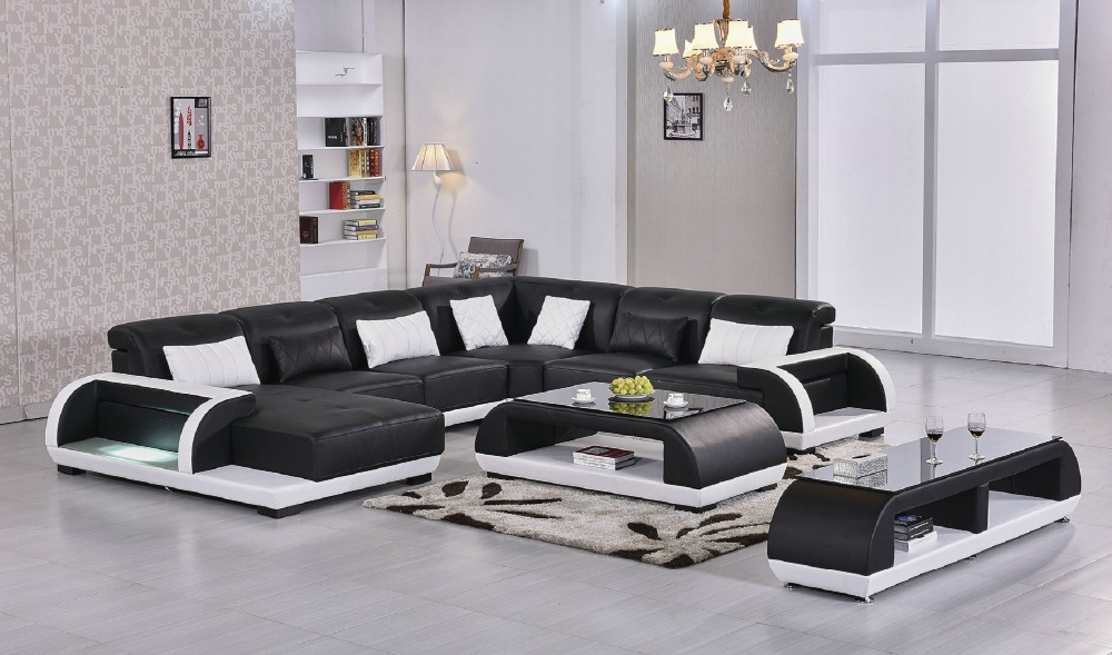 beanbag new no chaise bean bag chair 2016 promotion european style set genuine leather sofas for. Black Bedroom Furniture Sets. Home Design Ideas